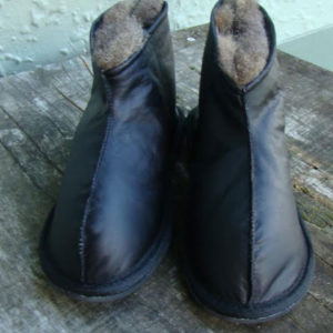 Snug Black Boot